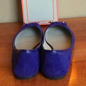 Sam Edelman Shoes - Twilight blue suede flats.